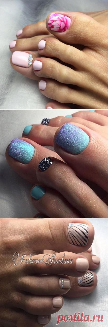 Пляжный педикюр: 30 идеальных вариантов, чтобы украсить ваши ножки | Новости моды
