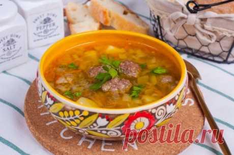 Гречневый суп с фрикадельками: рецепт пошаговый с фото | Меню недели