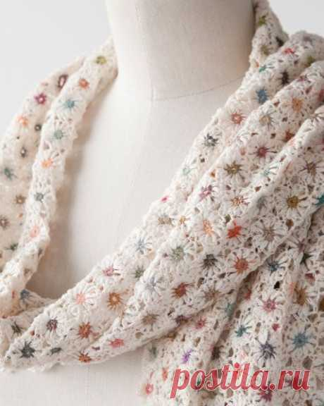 *Sophie Digard 2013SS NITRO LINEN SCARF | Crochet STITCHES