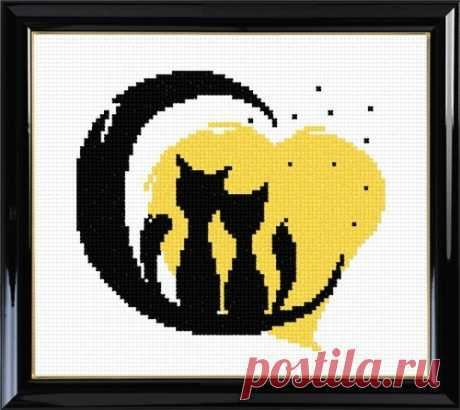 Любовь, романтика, коты