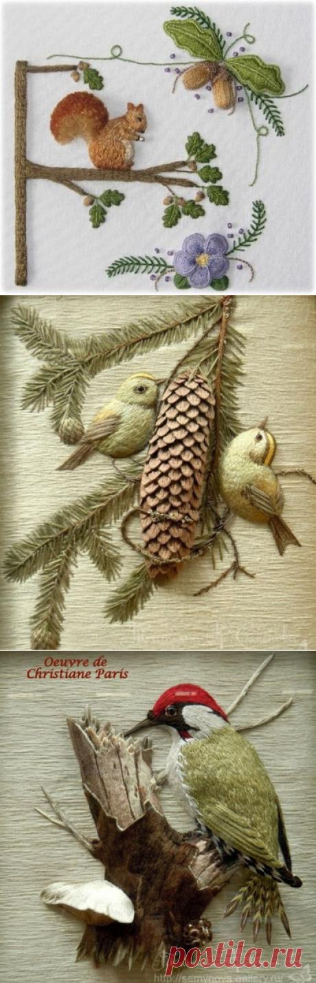 37 карточек в коллекции «Объёмная вышивка гладью» пользователя Юрий Т. в Яндекс.Коллекциях