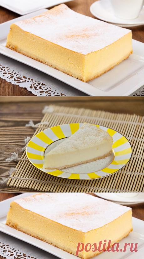 Как сделать чизкейк с лимонным желе и кокосом - Первый Женский