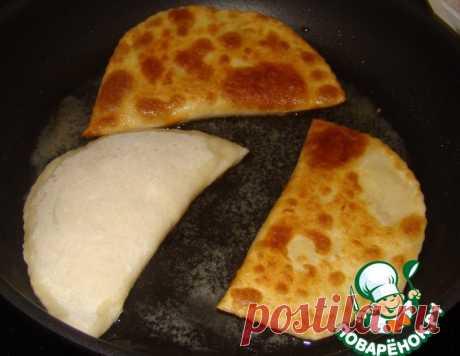 """Лепешки с сыром """"Проще простого"""" – кулинарный рецепт"""