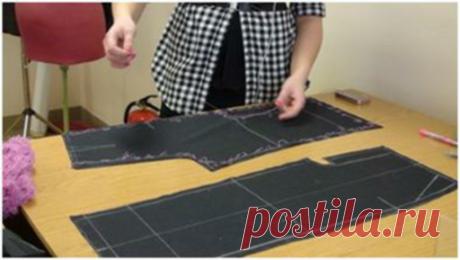 Очередность соединения деталей при шитье изделий. Советы для начинающих портних.