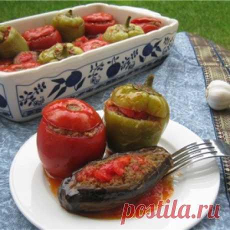 Долма из овощей по-азербайджански