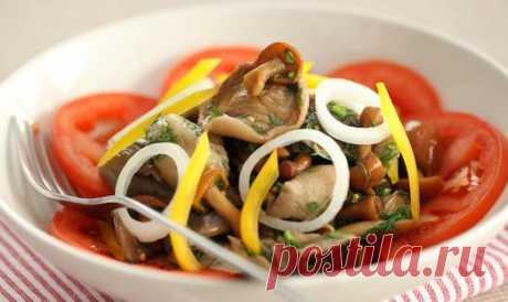 Простые вкусные и пикантные маринованные салаты — Вкусные рецепты