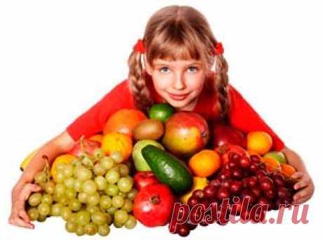 Лучшие фрукты и овощи для детей   Рецепты как похудеть