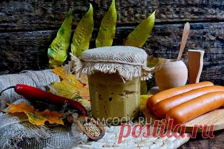 Острая горчица — рецепт с фото пошагово