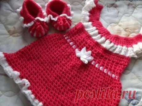 Вязаное платье для девочки крючком: как связать, схемы для девочек 1, 2, 3, 4, 5 и 6 лет