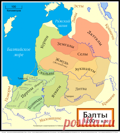 Как появились латыши, эстонцы и литовцы