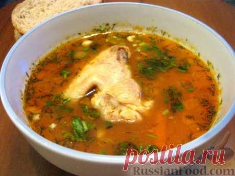 """La receta: la Sopa \""""el Jarchó\"""" en RussianFood.com"""