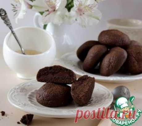 Печенье с нутеллой - кулинарный рецепт