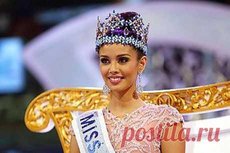 """Участница с Филиппин Меган Янг получила корону победительницы конкурса """"Мисс Мира-2013"""", который проходил в Индонезии, на острове Бали. Впервые за всю историю конкурса титул самой красивой девушки в мире получила филиппинка."""