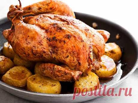 Вкуснейшая курица-гриль дома в духовке: быстро и просто | Просто, быстро и очень вкусно | Яндекс Дзен