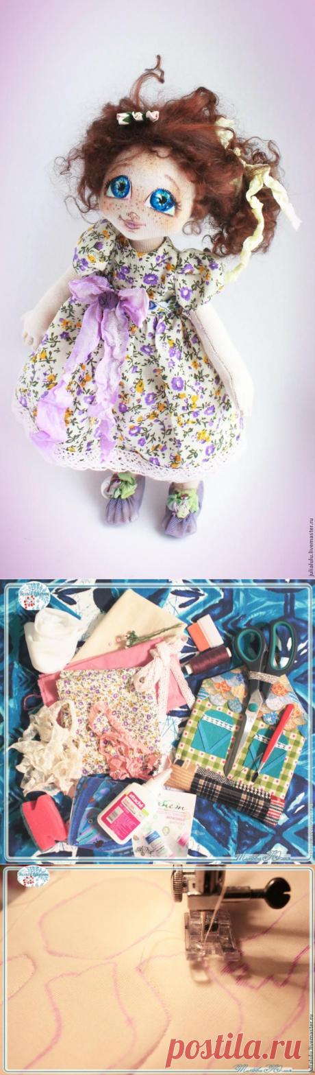 Текстильная куколка — от выкройки до наряда - Сам себе волшебник