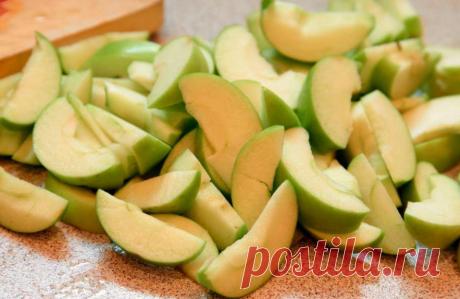 Интересная заготовка яблок и груш на зиму   Огород просто   Яндекс Дзен