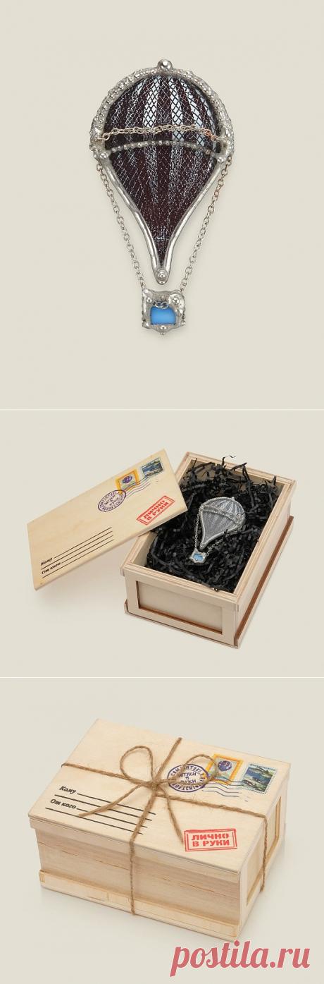 Брошь ручной работы (из камней) 1700Р + необычный подарок