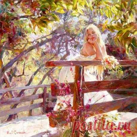 Самая красивая женщина — это та женщина, на которую смотрят сердцем, а она эти взгляды чувствует душой. /Юлия Витович/
