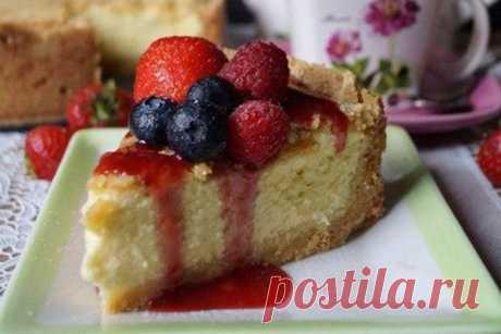 Творожный пирог «А-ля чизкейк» — Женская страничка