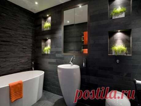 Удобная и стильная ванная комната | Я в доме хозяин