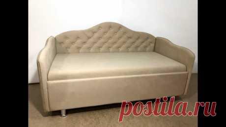 Не выбрасывайте старый советский диван. Показываю шикарную переделку, которая сможет сделать его современным | Дом Мечты Элис | Яндекс Дзен
