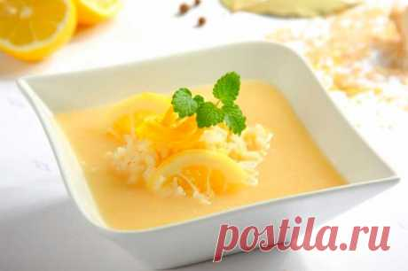 Греческий лимонный суп с рисом – пошаговый рецепт с фото.