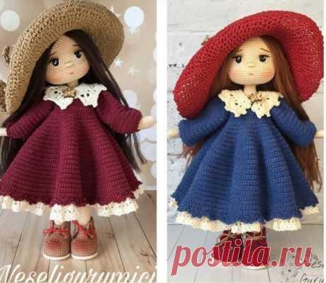 Куколка  #кукла_крючком@knit_child, #крючком_игрушка@knit_child  мк*  Источник: https://www.pindiy.com/forum-CrochetPatternsResources..
