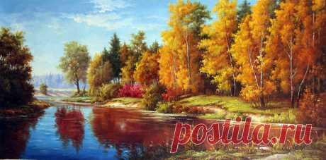 Художник Александр Ромм. Времена года. Часть 2. Осень.