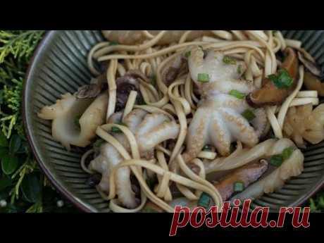 Лапша Удон с Морепродуктами || Тайский Пикник на FOOD TV