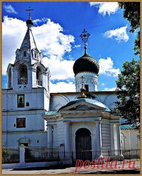 Храм Дмитрия Солунского город Ярославль.