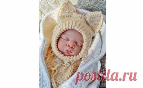 Шапочка шлем Лисенок Вук спицами — схема для малышей от 0 до 1,5 лет Как связать детскую шапочку шлем Ливенок Вук для малышей от самых маленьких до 18 месяцев. Подробное описание, как для начинающих.