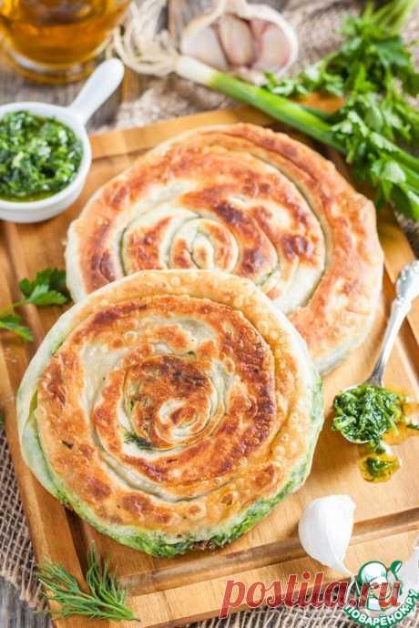 Лепешки с зеленью – кулинарный рецепт