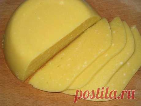 Как приготовить домашний твёрдый сыр - рецепт, ингредиенты и фотографии