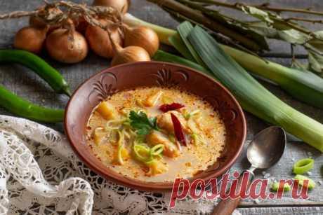 Лёгкий рыбный суп из минтая. Пошаговый рецепт с фото — Ботаничка.ru