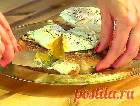 """Вкуснейший перекусик. Французские горячие бутерброды """"Крок-Мадам""""."""