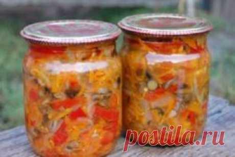 Солянка грибная (на зиму) - Простые рецепты Овкусе.ру