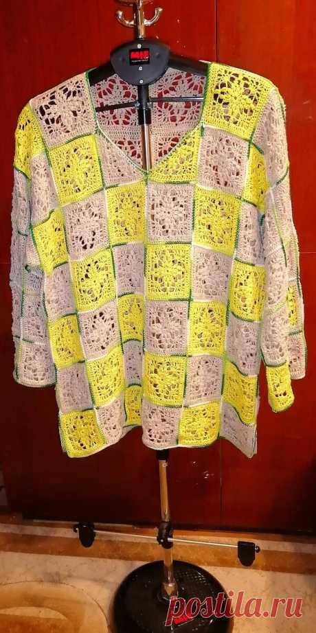 Вариации на тему любимой модели свитера: вяжем крючком