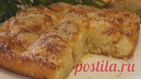 Сахарный пирог. Безумно вкусно - Простые рецепты Овкусе.ру