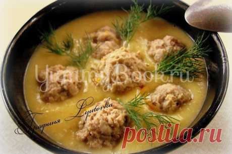 Картофельный суп-пюре с чесночными фрикадельками, рецепт с фото пошагово | Первые блюда Картофельный суп-пюре с чесночными фрикадельками - как приготовить быстро, просто и вкусно в домашних условиях. Пошаговый рецепт с фотографиями, подробным описанием и ингредиентами.
