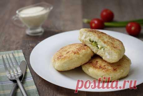 Творожно-картофельные зразы