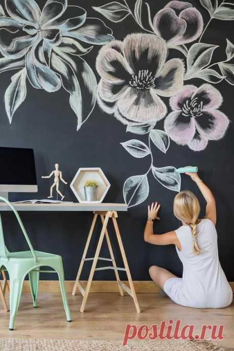 9 оригинальных идей оформления пустой стены :: Дизайн :: РБК Недвижимость