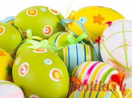 5 лёгких способов декорировать пасхальные яйца.