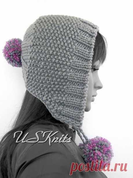 Оригинальные и продуманные шапки которые я вязала, но моих фото не сохранилось | Записки Спицеманьяка | Яндекс Дзен