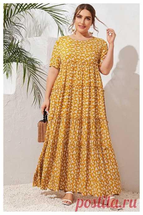 Восхитительное Бохо-платье для любого возраста: с простой выкройкой | Будь в стиле! | Яндекс Дзен