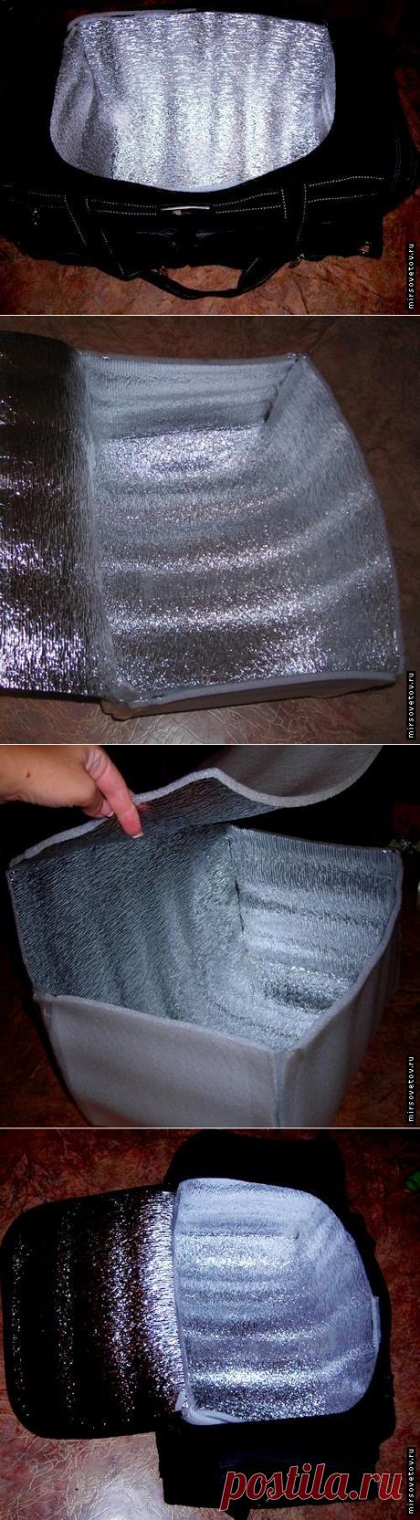 Как сделать сумку-холодильник своими руками: теперь размеры выбираете вы сами — Сделай сам, идеи для творчества - DIY Ideas