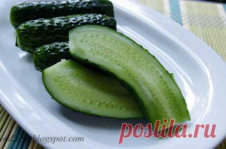 Sausai sūdyti agurkai - greita ir labai skanu - receptas | La Maistas