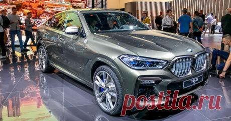 BMW X6 «живьем»: первые фото и впечатления Главная для нас премьера на стенде BMW — это новое поколение кроссовера Х6