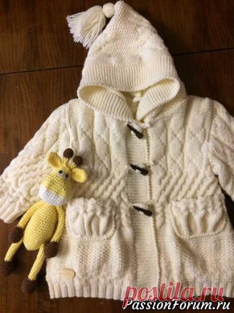 Вязаное пальто на 2 года. - запись пользователя Tatyana (Татьяна) в сообществе Вязание спицами в категории Вязание спицами. Работы пользователей