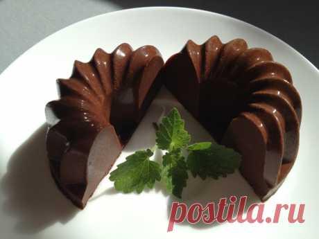 Десертный вихрь. Бланманже (2)--Бланманже кофейное