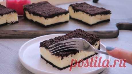 Творожный пирог: как настоящее пирожное